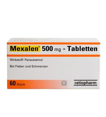 Mexalen® 500 mg Tabletten
