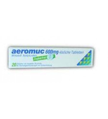 Aeromuc Brausetabletten 600mg