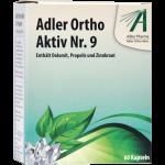 Adler Ortho Aktiv Nr .9 Kapseln (Ernährungsphysiologische Ergänzung zu Schüßler Anwendung)